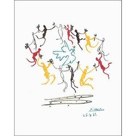 ''Dance of Youth'' by Pablo Picasso Huntington Graphics Art Print (28 x 22 in.)