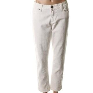 Paige Womens Kylie Denim Stretch Cropped Jeans - 24