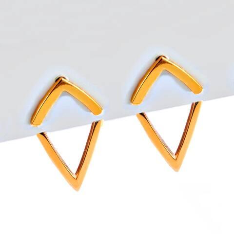 Sonia Hou Trill 2-Way Convertible 18K Rose Gold Vermeil Ear Jacket Earrings
