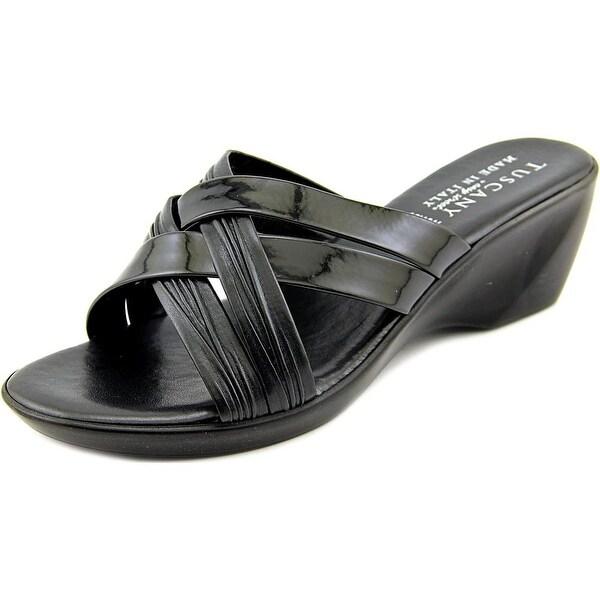 Easy Street Ceccano Women W Open Toe Synthetic Wedge Sandal
