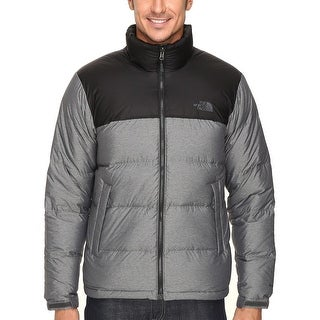 The North Face Nuptse Down Fill Puffer Jacket Grey and Black XX-Large