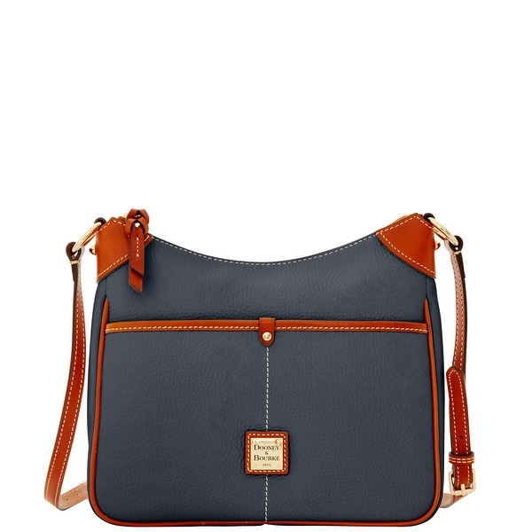 Dooney & Bourke Pebble Grain Kimberly (Introduced by Dooney & Bourke at $198 in Dec 2015) - Midnight Blue