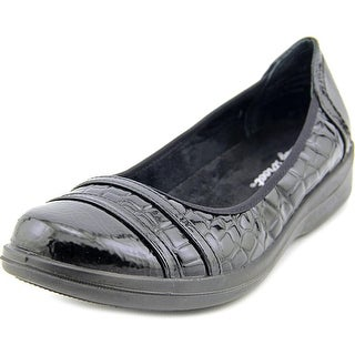 Easy Street Measure WW Round Toe Synthetic Loafer
