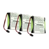 Replacement Battery For Panasonic KX-TG2553F Cordless Phones - P504 (700mAh, 3.6v, NiMH) - 3 Pack