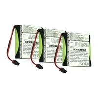Replacement Battery For Panasonic KX-TG2583S Cordless Phones - P504 (700mAh, 3.6v, NiMH) - 3 Pack
