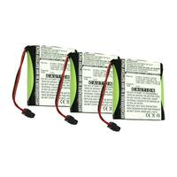 Replacement For Panasonic PQP60AAF3G2 Cordless Phone Battery (700mAh, 3.6v, NiMH) - 3 Pack
