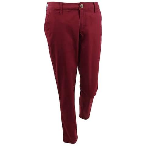 Tommy Hilfiger Women's Cuffed Chino Straight-Leg Pants
