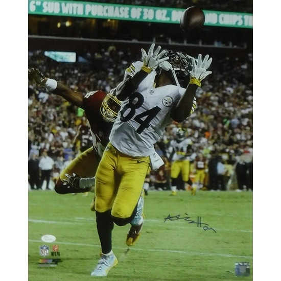 ea236c4c8 Shop Antonio Brown Autographed Pittsburgh Steelers 16x20 Photo vs Redskins  JSA - Free Shipping Today - Overstock - 16798013