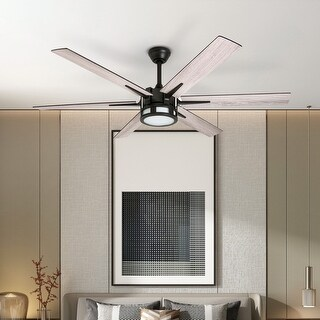 Link to Honeywell Kaliza LED 6-blade Espresso Ceiling Fan w/ Remote - 56-inch Similar Items in Ceiling Fans
