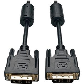 Tripp Lite P561-18N Tripp Lite DVI Single Link Cable, Digital TMDS Monitor Cable (DVI-D M/M), 18-in - DVI for Video Device,