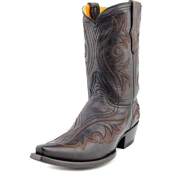 "Old Gringo Marcelina Stitch 10"" Pointed Toe Leather Western Boot"