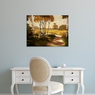 Easy Art Prints Graham Reynolds's 'Country Walk II' Premium Canvas Art