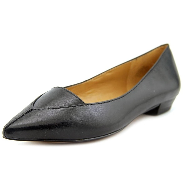 Nine West Timewarp Women Pointed Toe Leather Black Flats