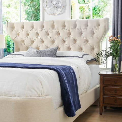 Robyn Diamond Tufted Panel Bed by Jennifer Taylor Home