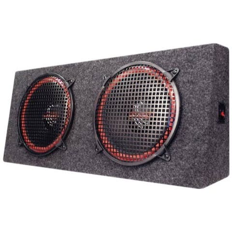 Dual 15'' 800 Watt 4-Way Stereo Hatchback Speaker System