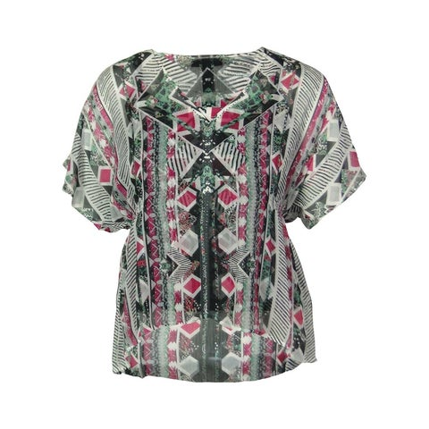Style & Co. Women's Patterned Top with Cami