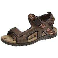 Geox Womens Strada 25 Sandal Open Toe Casual Slingback Sandals - 13