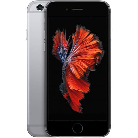 """Apple iPhone 6s 32GB 4.7"""" 4G LTE AT&T Only,Space Gray (Refurbished) - Space Gray"""