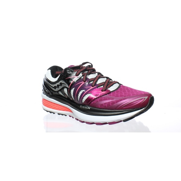 9746a66b Shop Saucony Womens Hurricane Iso 2 Purple Running Shoes Size 5 - On ...