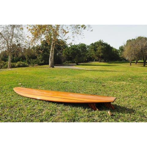 """Open Water Red Cedar Long Board Surf Board - 109x24x0"""""""