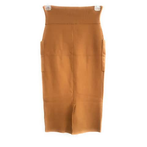 Kendall + Kylie Skirt, Mocha, Small