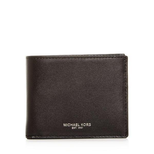 5616462e5843 Shop MICHAEL Michael Kors Odin Slim Leather Billfold Wallet - Free ...