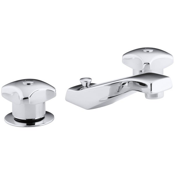Kohler K-7437-2A Triton Widespread Bathroom Faucet with Ultra-Glide Valve Technology - Polished Chrome