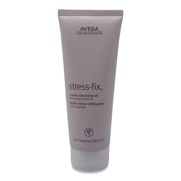 Aveda Stress-Fix Creme Cleansing Oil 6.7 Oz