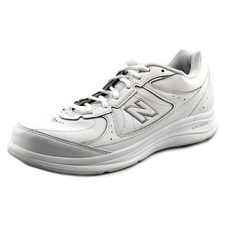 New Balance WW577 2A Round Toe Leather Running Shoe