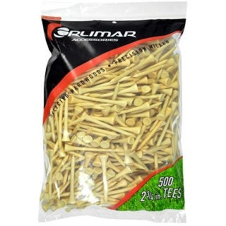 Orlimar 2 3/4-Inch Golf Tees 500-Pack (Natural)|https://ak1.ostkcdn.com/images/products/is/images/direct/63dd20d7c456aab00222e4cc06d674a07677ef06/Orlimar-2-3-4-Inch-Golf-Tees-500-Pack-%28Natural%29.jpg?impolicy=medium