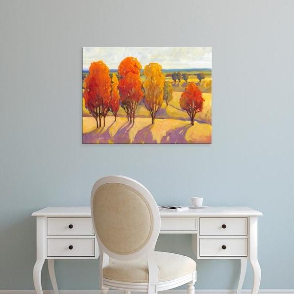 Easy Art Prints Tim OToole's 'Day Glow II' Premium Canvas Art
