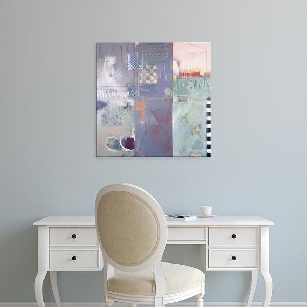 Easy Art Prints Judy Campbell's 'Structure' Premium Canvas Art