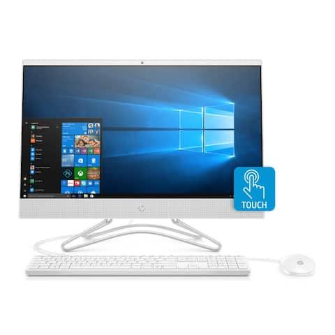 "HP 24-F087 23.8"" FHD Touch AIO Desktop Intel i5 8GB 512GB (Renewed) - White"