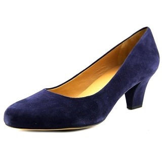 Trotters Penelope Women Round Toe Suede Heels