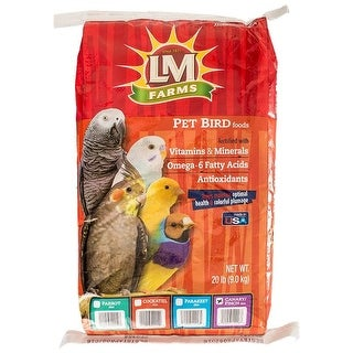 LM Animal Farms Canary & Finch Diet 20 lbs