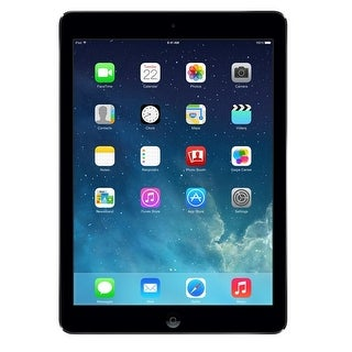 Apple iPad Air 16GB Wi-Fi Tablet Refurbished by Apple Tablet PC - Gray (Certified Refurbished)