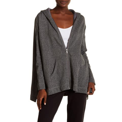 UGG Pearl Oversize Hoodie, Charcoal Heather, Small