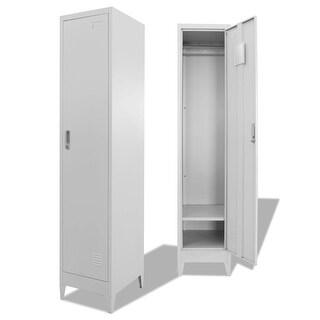 """vidaXL Locker Cabinet 15""""x17.7""""x70.9"""""""