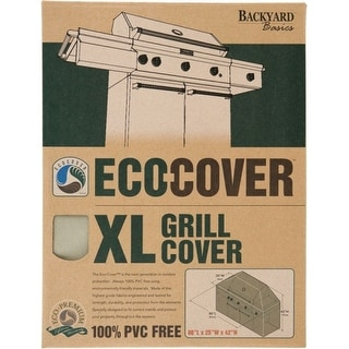 Collegiate 07301GD Collegiate Eco-Cover X-Large Grill Cover - Supports Grill - Polyester Material