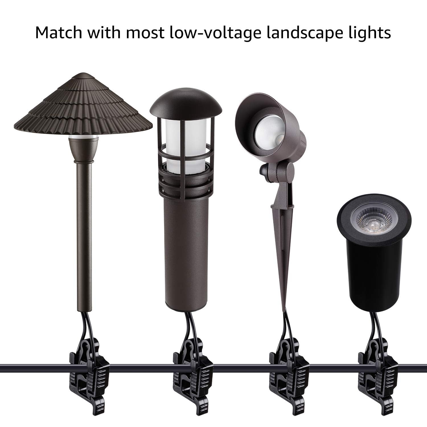 Wire Connectors for Low Voltage Landscape Lighting on