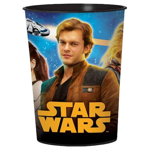 Star Wars Han Solo 16oz Plastic Party Favor Cup - Multi