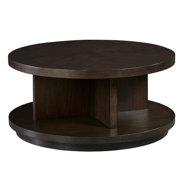 Round Cocktail Table. Opens flyout.
