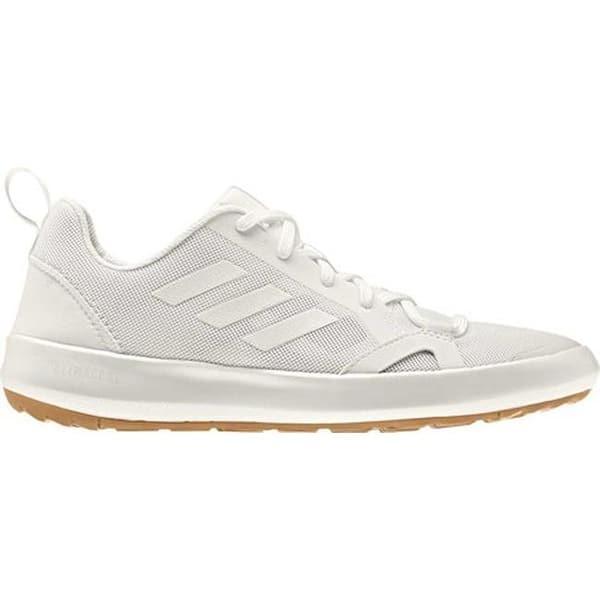 timeless design b09b0 c87fd adidas Men's Terrex Climacool Boat Running Sneaker Non-Dyed/Chalk  White/Grey One