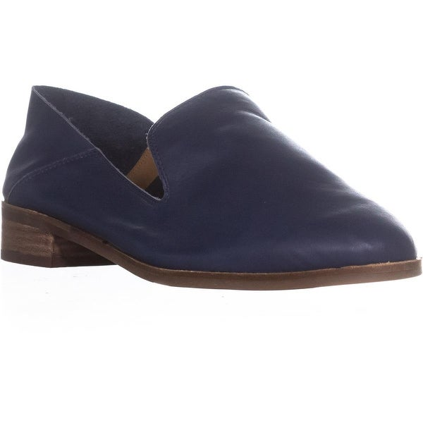 Lucky Brand Cahill Deconstructed Flat Loafers, Indigo - 11 us