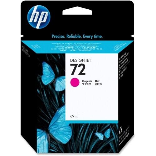 HP 72 69-ml Magenta DesignJet Ink Cartridge (C9399A) (Single Pack) Ink Cartridge