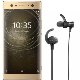 "Sony Xperia XA2 Ultra Factory Unlocked Phone - 6"" Screen - 32GB - Gold Bundle"