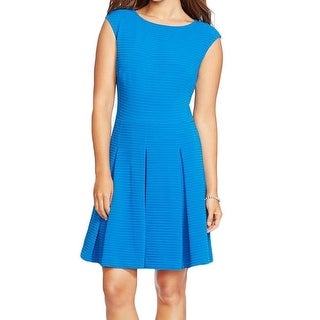 American Living NEW Blue Royal Women's Size 8 Pleated Sheath Dress