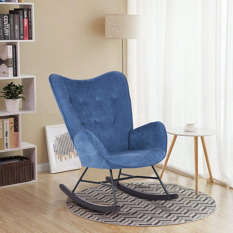 Carson Carrington Gim Nursery Room Rocking Chair Armchair
