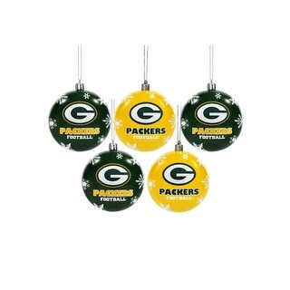 Green Bay Packers Ornament Set