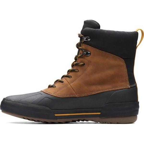 Bowman Peak Duck Boot Dark Tan Leather